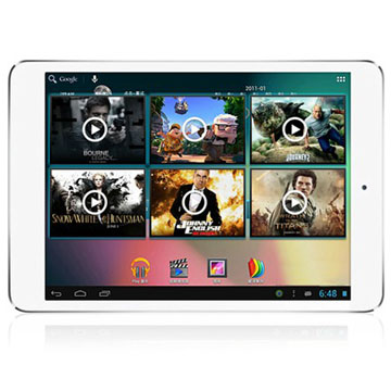 High Quality 7.85 inch IPS Screen 1024*768 Quad Core Android 4.2 Tablet PC