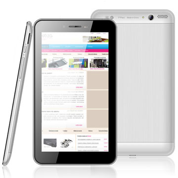 High Quality 7 inch MTK8312 Dual Core 3G Android Tablet With 3G SIM Card Slot GPS Bluetooth ATV
