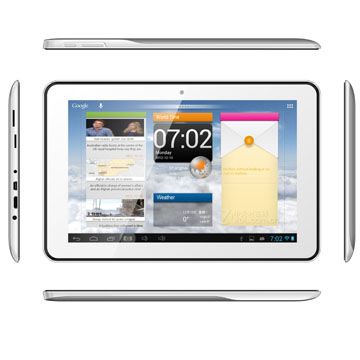 10.1 inch MTK6589 Quad Core IPS Screen Android 4.2 Tablet With 3G Phone Call GPS Bluetooth