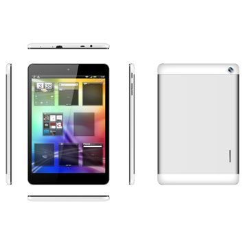 7.85 inch 1GB Memory 8GB Storage MTK8312 Dual Core Android Phablet