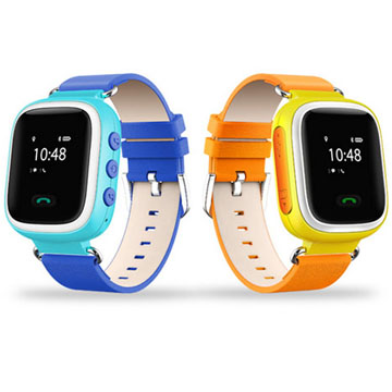 Popular Emergency GPS Tracker Children Kids Smart GPS Watch With SIM Card Slot SOS Phone Call Voice Message
