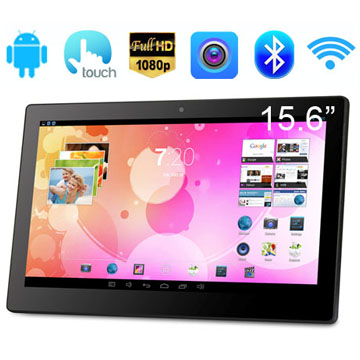 15.6 Inch RK3188(RK3288) Quad Core FULL HD 1080P Screen Advertising Equipment With Android System Capactive Touch Panel