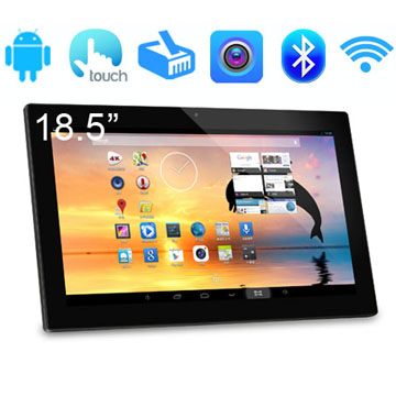 Slim 18.5 Inch RK3188(RK3288) Quad Core Capacitive Screen Android Kiosk With WIFI RJ45 USB BT