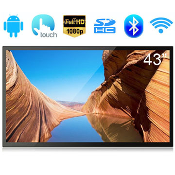 43 Inch RK3288 Quad Core A17 Full HD 1080P Screen Capacitive Touch Screen Android 5.1 Smart TV