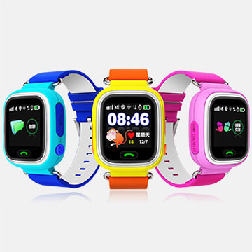 2016 New Built-in GPS BDS GSM WIFI BT IPS Colorful Capacitive Touch Screen Tracker Kids Watch